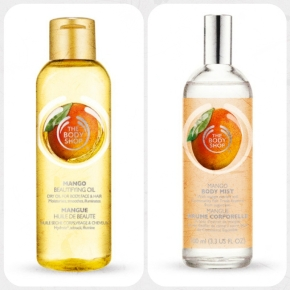 body mist and oil