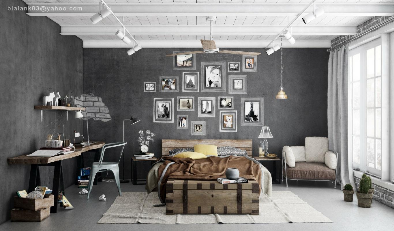 sanmusone s blog bedroom cool bedroom design with cold and warm concept industrial - Warm Bedroom Designs